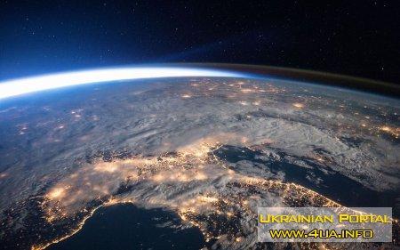 Киев из космоса